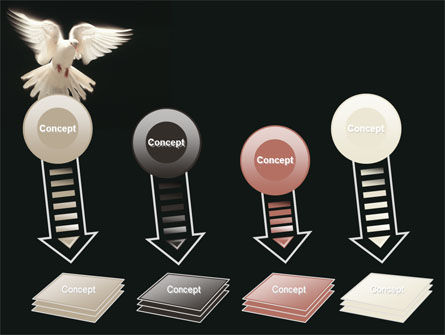 Soaring Dove PowerPoint Template Slide 8