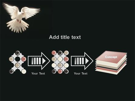 Soaring Dove PowerPoint Template Slide 9