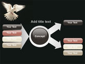 Soaring Dove PowerPoint Template#15