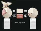 Soaring Dove PowerPoint Template#16