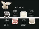 Soaring Dove PowerPoint Template#18