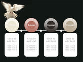 Soaring Dove PowerPoint Template#5