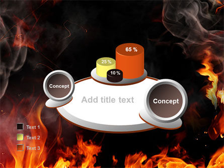 Forks Of Flame PowerPoint Template Slide 16