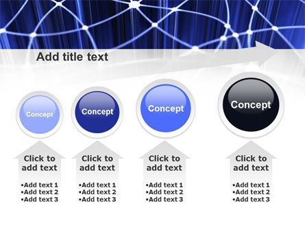 Network Links PowerPoint Template Slide 13