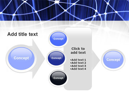 Network Links PowerPoint Template Slide 17