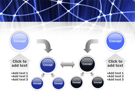 Network Links PowerPoint Template Slide 19