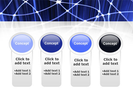 Network Links PowerPoint Template Slide 5