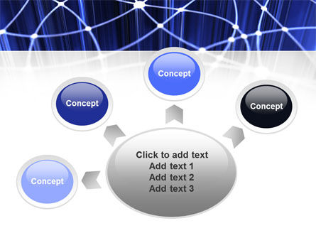 Network Links PowerPoint Template Slide 7