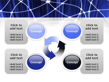 Network Links PowerPoint Template Slide 9