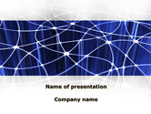 Abstract/Textures: Network Links PowerPoint Template #09391
