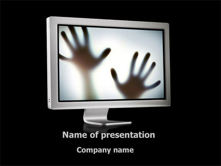 Medical: Mystery Hands PowerPoint Template #09394