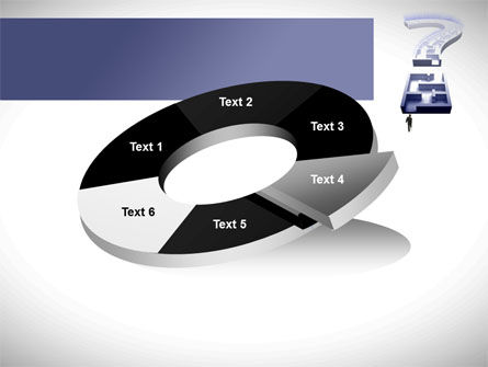Labyrinth Question Mark PowerPoint Template Slide 19
