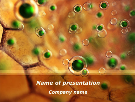 Technology and Science: Antivirus Membrane PowerPoint Template #09396
