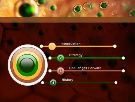 Antivirus Membrane PowerPoint Template, Slide 3, 09396, Technology and Science — PoweredTemplate.com