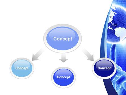 World In A Fingertip PowerPoint Template, Slide 4, 09397, Global — PoweredTemplate.com