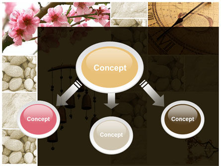 Orient Meditation PowerPoint Template, Slide 4, 09398, Nature & Environment — PoweredTemplate.com