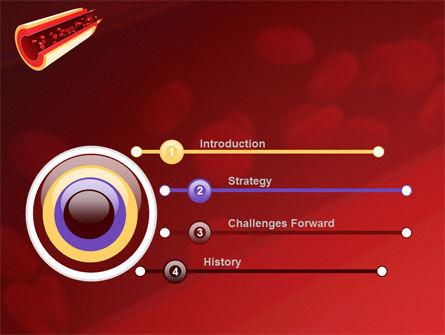 Blood Flow PowerPoint Template, Slide 3, 09401, Medical — PoweredTemplate.com