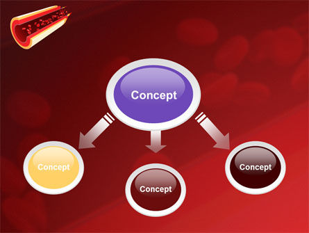 blood flow powerpoint template backgrounds 09401 poweredtemplate