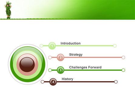 Green Life PowerPoint Template, Slide 3, 09405, Nature & Environment — PoweredTemplate.com