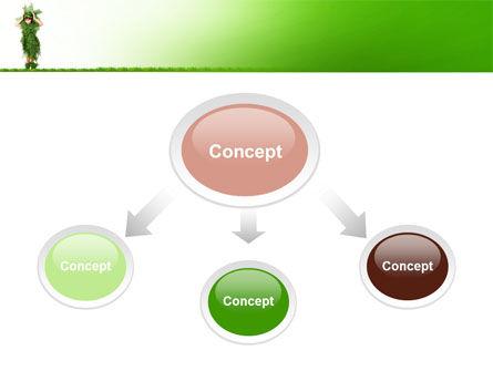 Green Life PowerPoint Template, Slide 4, 09405, Nature & Environment — PoweredTemplate.com