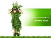 Nature & Environment: Green Life PowerPoint Template #09405
