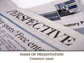 Business: Business Perspective PowerPoint Template #09406