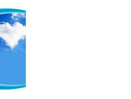 Heart In The Sky PowerPoint Template, Slide 3, 09410, Religious/Spiritual — PoweredTemplate.com