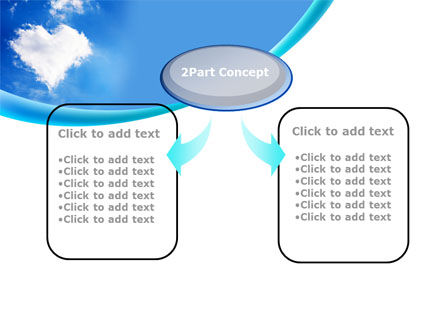 Heart In The Sky PowerPoint Template Slide 4