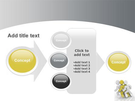 Runners PowerPoint Template Slide 17
