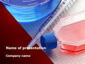 Medical: Lab Glassware PowerPoint Template #09415