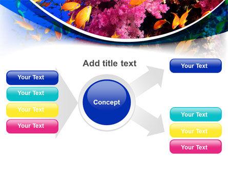 Coral Reef Fishing PowerPoint Template Slide 14