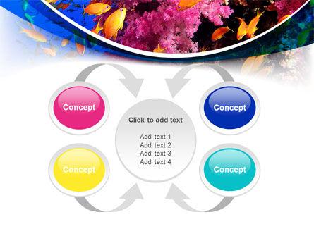 Coral Reef Fishing PowerPoint Template Slide 6
