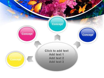 Coral Reef Fishing PowerPoint Template Slide 7