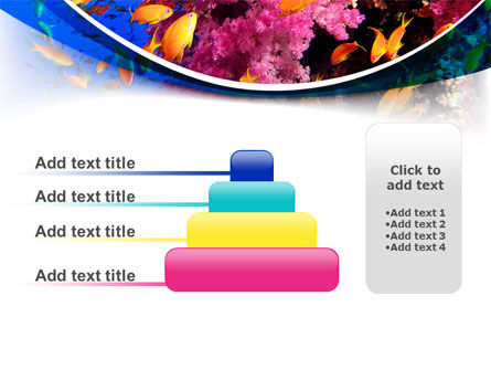 Coral Reef Fishing PowerPoint Template Slide 8