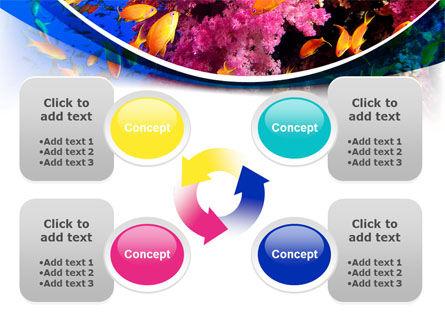 Coral Reef Fishing PowerPoint Template Slide 9