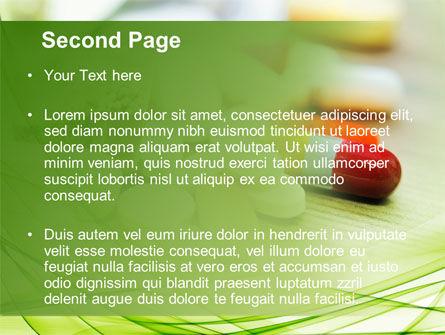 Medical Pills and Tablets PowerPoint Template, Slide 2, 09418, Medical — PoweredTemplate.com