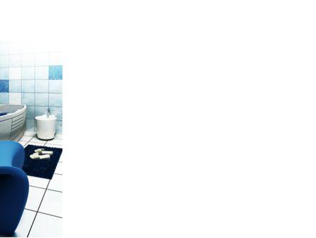 Bathroom Interior PowerPoint Template, Slide 3, 09419, Construction — PoweredTemplate.com