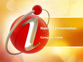 Business Concepts: Information Sign PowerPoint Template #09421