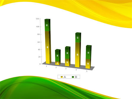 Yellow Green Wave PowerPoint Template Slide 17
