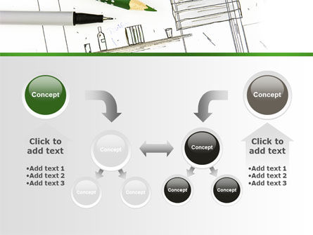 Kitchen Interior Design PowerPoint Template Slide 19