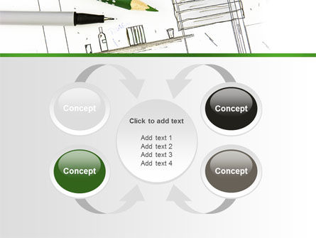 Kitchen Interior Design PowerPoint Template Slide 6
