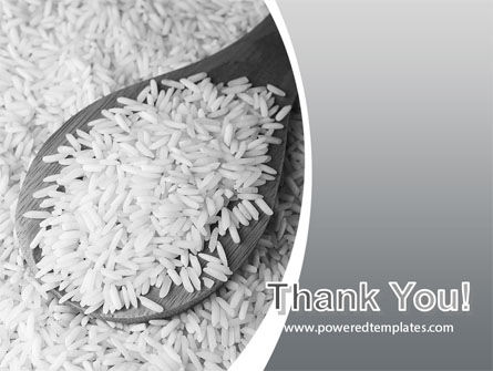 Grains Of White Rice PowerPoint Template Slide 20
