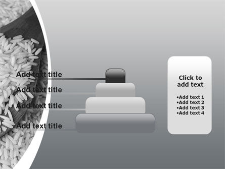 Grains Of White Rice PowerPoint Template Slide 8