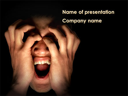 Consulting: Cry PowerPoint Template #09431