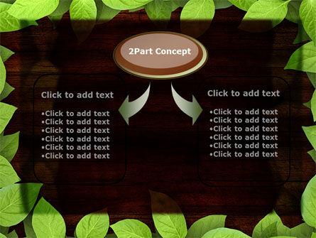 Forest Frame PowerPoint Template, Slide 4, 09432, Nature & Environment — PoweredTemplate.com