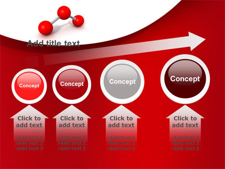 Molecular Triatomic Model PowerPoint Template Slide 13