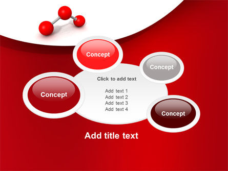 Molecular Triatomic Model PowerPoint Template Slide 16
