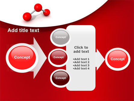 Molecular Triatomic Model PowerPoint Template Slide 17