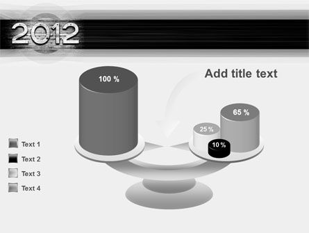2012 Report PowerPoint Template Slide 10