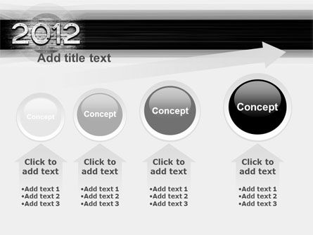 2012 Report PowerPoint Template Slide 13